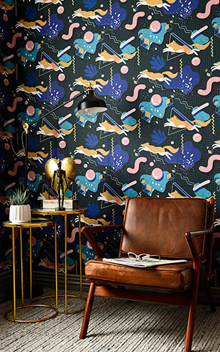 MINDTHEGAP / The Wallpaper Compendium / MODERN FOXY WP20537