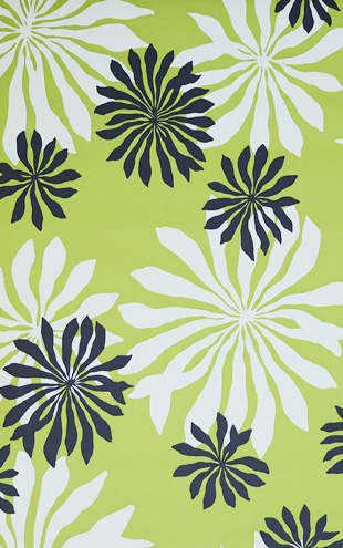 MissPrint Collection1 Fleur Lime MISP1015