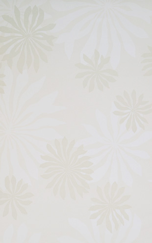 MissPrint Collection1 Fleur White with Stone MISP1016