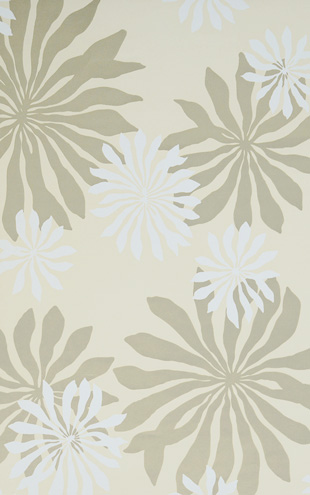 MissPrint Collection1 Fleur Cream with Gold MISP1017