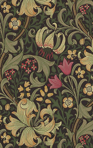 MORRIS & Co. / WALLPAPER COMPILATION I / Golden Lily 216853(210403)