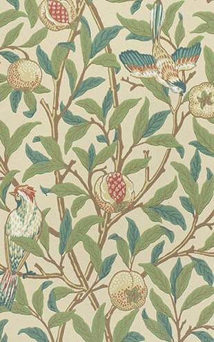 MORRIS & Co. ARCHIVE COLLECTION 2 Bird & Pomegranate / 212539