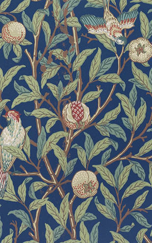 MORRIS & Co. ARCHIVE COLLECTION 2 Bird & Pomegranate / 212540