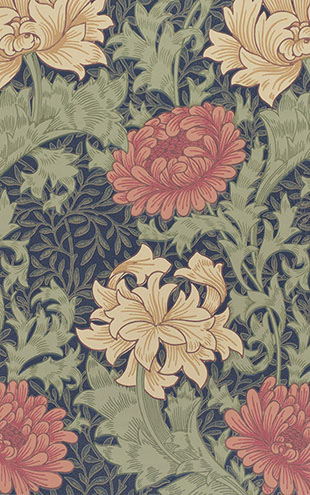 MORRIS & Co. ARCHIVE COLLECTION 2 Chrysanthemum / 212549