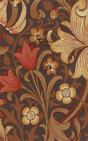 MORRIS & Co. ARCHIVE WALLPAPERS  Golden Lily / 210402