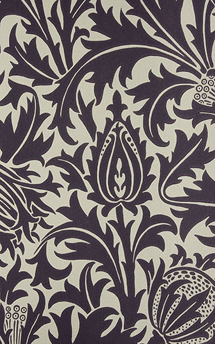 MORRIS & CO MORRIS V Wallpapers / Thistle / DMOWTH101