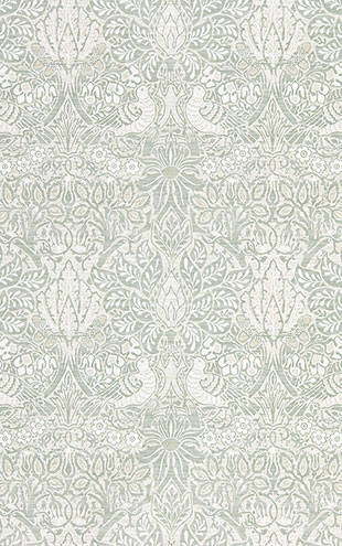 PURE MORRIS NORTH WALLPAPERS / Pure Dove & Rose 216522