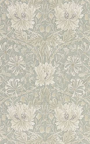 PURE MORRIS NORTH WALLPAPERS / Pure Honeysuckle & Tulip 216525