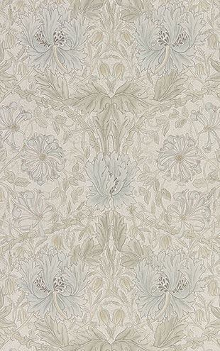PURE MORRIS NORTH WALLPAPERS / Pure Honeysuckle & Tulip 216526