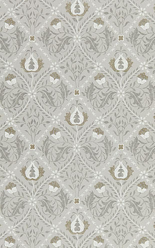 PURE MORRIS NORTH WALLPAPERS / Pure Trellis 216528