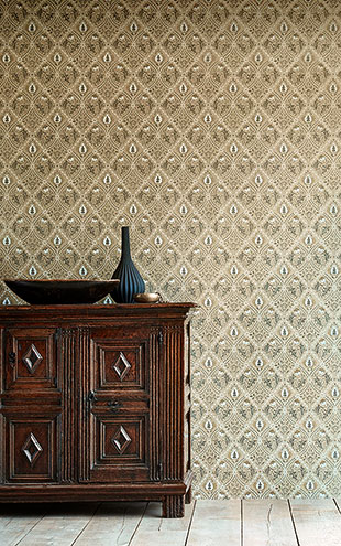 PURE MORRIS NORTH WALLPAPERS / Pure Trellis 216529