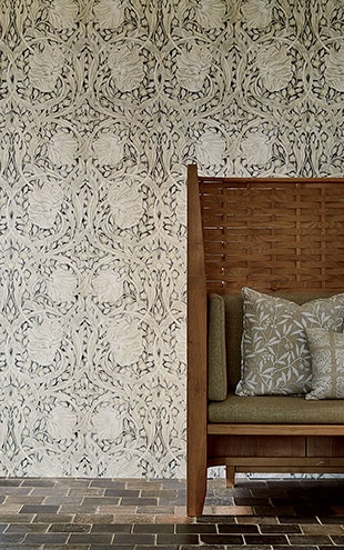 PURE MORRIS NORTH WALLPAPERS / Pure Pimpernel 216539