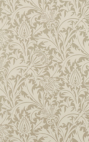 PURE MORRIS NORTH WALLPAPERS / Pure Thistle 216548