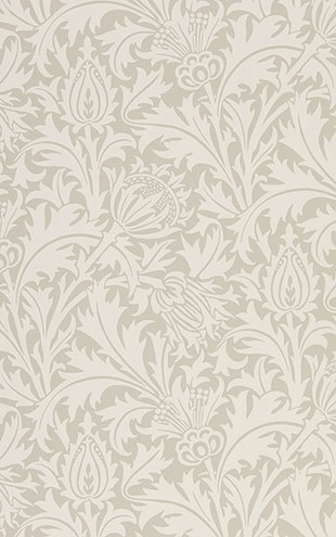 PURE MORRIS NORTH WALLPAPERS / Pure Thistle 216551