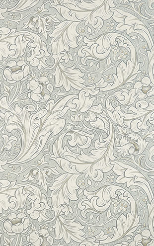PURE MORRIS NORTH WALLPAPERS / Pure Bachelors Button 216554
