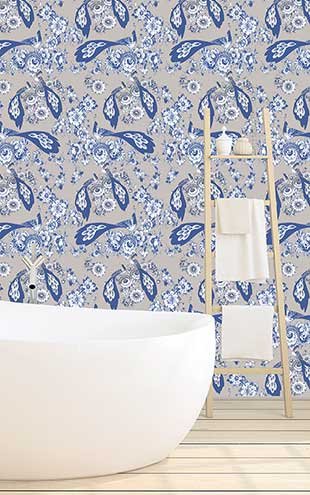 Royal Delft by Nicolette Mayer ロイヤル・デルフト / Royal Delft Bloemdecor Grain