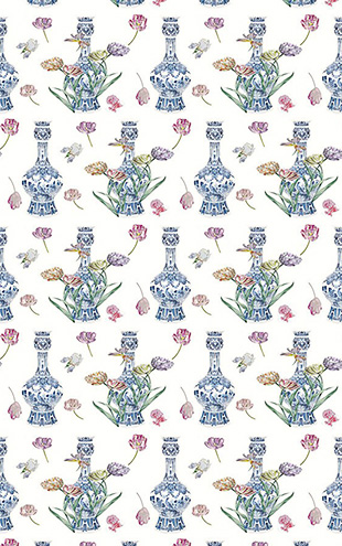 Royal Delft by Nicolette Mayer ロイヤル・デルフト / Royal Delft Purissima White