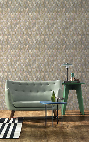 NLXL LAB 3 NIZWA WALLPAPER BY BETHAN GRAY NATURAL BGR-03