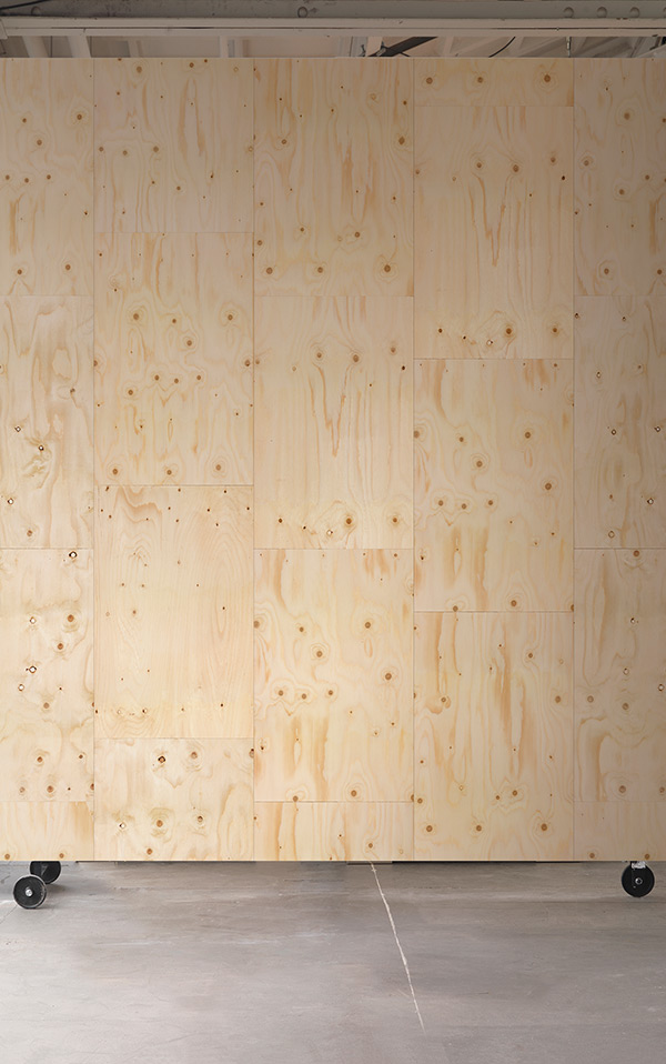 MATERIALS WALLPAPER by Piet Hein Eek PLYWOOD WALLPAPER / PHM-37
