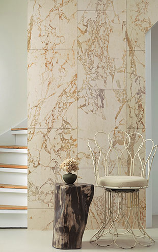 MATERIALS WALLPAPER by Piet Hein Eek BEIGE MARBLE WALLPAPER / PHM-61A