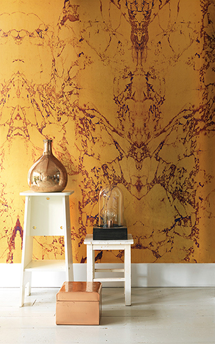 MATERIALS WALLPAPER by Piet Hein Eek GOLD MARBLE WALLPAPER / PHM-80&PHM-81(2本セット)