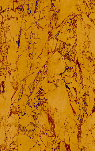 MATERIALS WALLPAPER by Piet Hein Eek GOLD MARBLE MIRRORED WALLPAPER / PHM-81