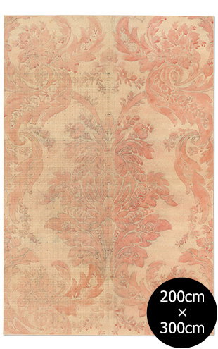 NLXL RUGS / Mr & Mrs Vintage / Aubusson Rose Rug Wool Rectangular RMRV-02WS