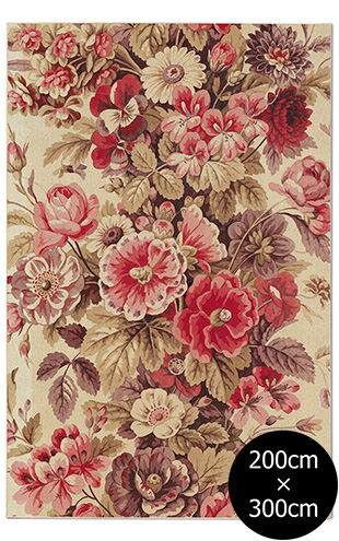 NLXL RUGS / Mr & Mrs Vintage / Bouquet Rouge Rug Wool Rectangular RMRV-04WS