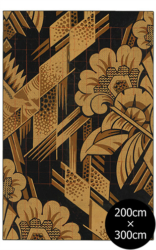 NLXL RUGS / Mr & Mrs Vintage / Art Deco Rug Wool Rectangular RMRV-06WS