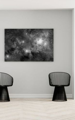 【Canvas Print】PHOTOWALL / Stellar Field Nebulae (e1971)