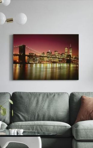 【Canvas Print】PHOTOWALL / Brooklyn Bridge (e6391)