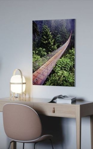【Canvas Print】PHOTOWALL / Capilano Bridge (e9047)