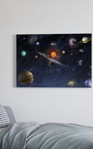 【Canvas Print】PHOTOWALL / Solar System (e10034)