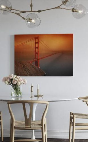 【Canvas Print】PHOTOWALL / Golden Gate (e10043)