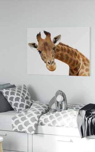 【Canvas Print】PHOTOWALL / Giraffe (e10075)