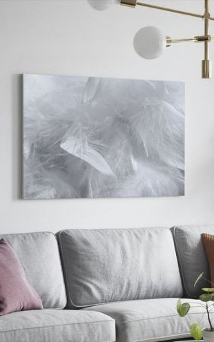 【Canvas Print】PHOTOWALL / Feather Pattern (e1399)