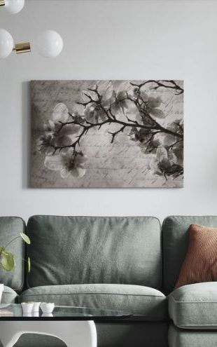 【Canvas Print】PHOTOWALL / Magnolia Memories (e1485)