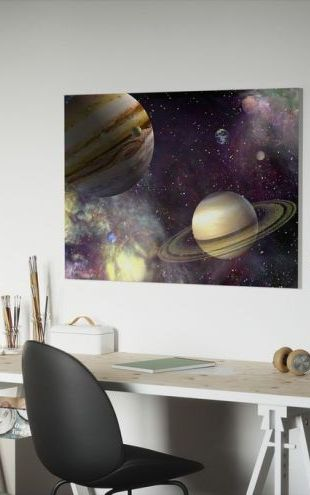 【Canvas Print】PHOTOWALL / Our Solar System (e1874)