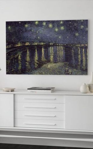 【Canvas Print】PHOTOWALL / Starry Night - Vincent van Gogh (e2099)