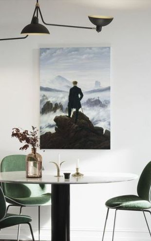 【Canvas Print】PHOTOWALL / Wanderer above the Sea of Fog - Caspar Friedrich (e2115)