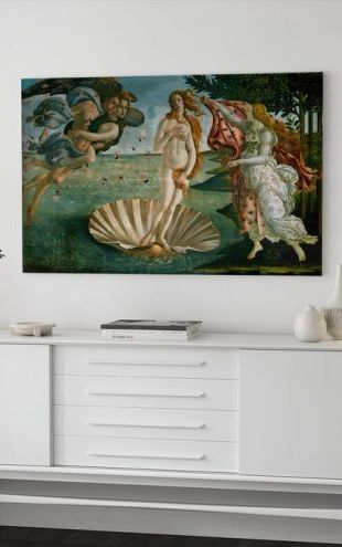 【Canvas Print】PHOTOWALL / Sandro Botticelli - Birth of Venus (e2167)