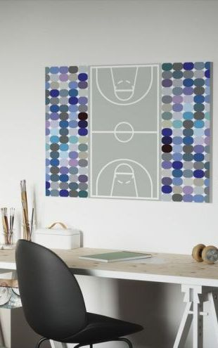 【Canvas Print】PHOTOWALL / Basketball (e19395)