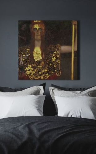 【Canvas Print】PHOTOWALL / Minerva or Pallas Athena, Gustav Klimt (e10359)