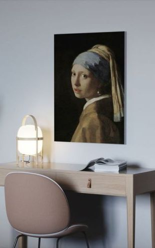 【Canvas Print】PHOTOWALL / Girl with a Pearl Earring, Jan Vermeer (e10373)