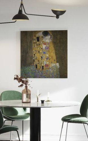 【Canvas Print】PHOTOWALL / The Kiss, Gustav Klimt (e10400)