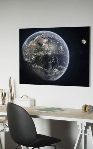 【Canvas Print】PHOTOWALL / Blue Dot (e19619)