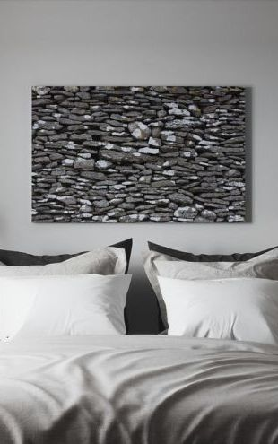 【Canvas Print】PHOTOWALL / Stone Wall (e20090)