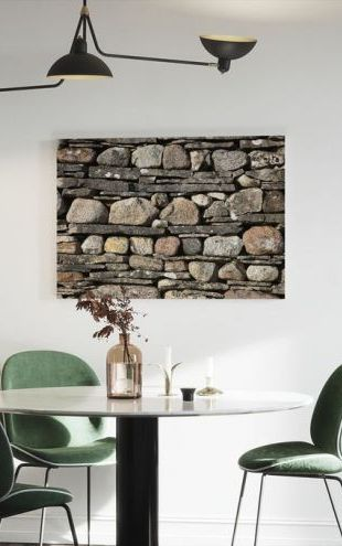 【Canvas Print】PHOTOWALL / Stonewall with Slate (e20323)