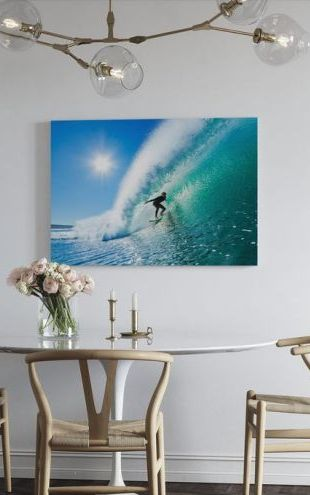 【Canvas Print】PHOTOWALL / Surfing (e20349)