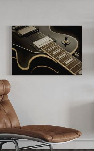 【Canvas Print】PHOTOWALL / Vintage Guitar (e21062)